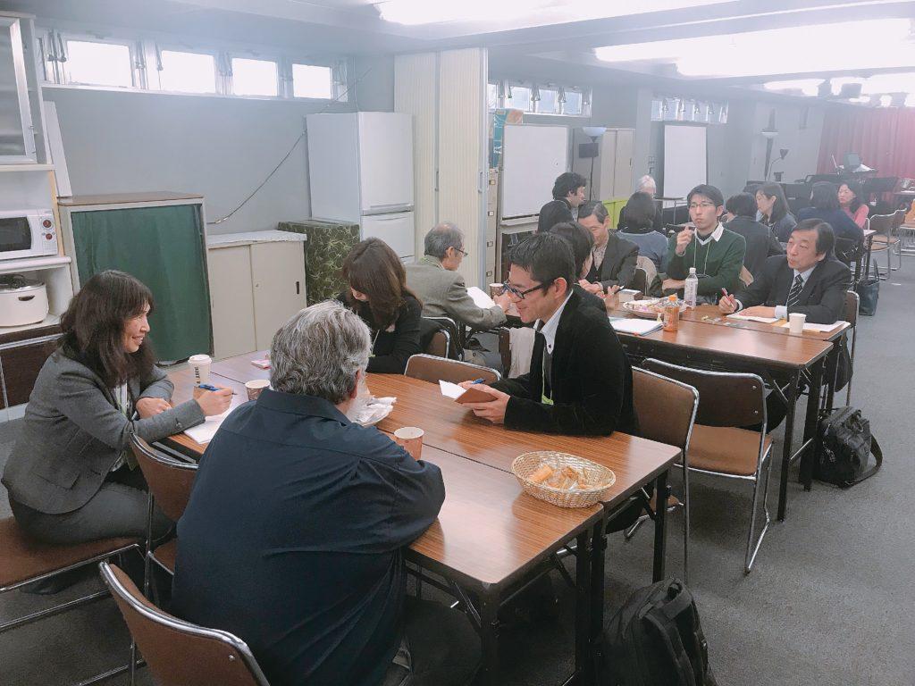 4/14カフェが開催されました。